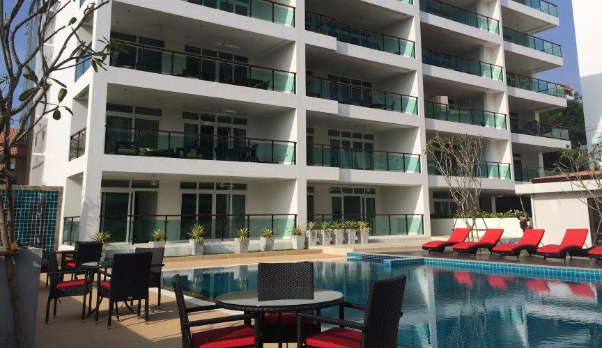 Siam Royal Ocean View Condominium Pratamnak